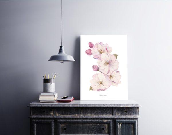 cherry-tree-blossom-watercolor-akwarela